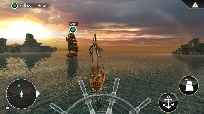 Complementado o universo da série, Assassins creed pirates é um excelente game de ação (Foto: Divulgação/Ubisoft)