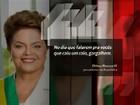 Dilma em 2012 sobre apagões: 'O dia que falarem que é raio, gargalhem'