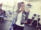 Mais magra, Geisy Arruda dá dicas na academia: 'Vá treinar bonitinha'