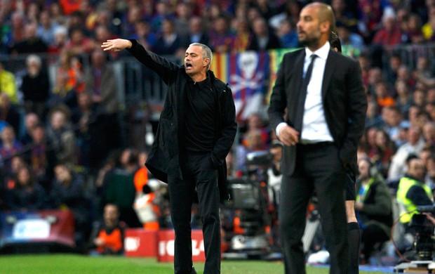 guardiola barcelona mourinho real madrid (Foto: Agência Reuters)