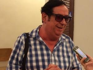 Amigo do atorm (Foto: Flávia Rodrigues/G1)