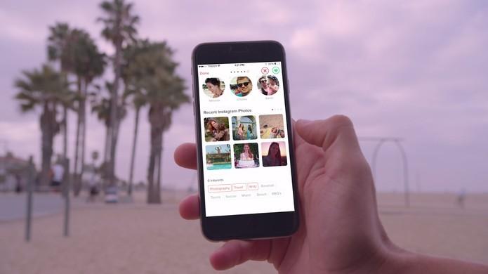 Nova atualização do Tinder traz integração com Instagram (Foto: Reprodução/Instagram)