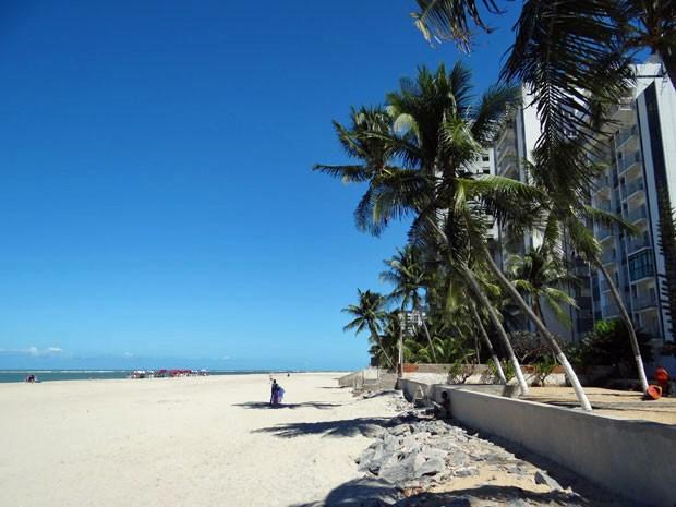 Prefeitura espera concluir engorda até 15 de setembro (Foto: Luna Markman / G1)