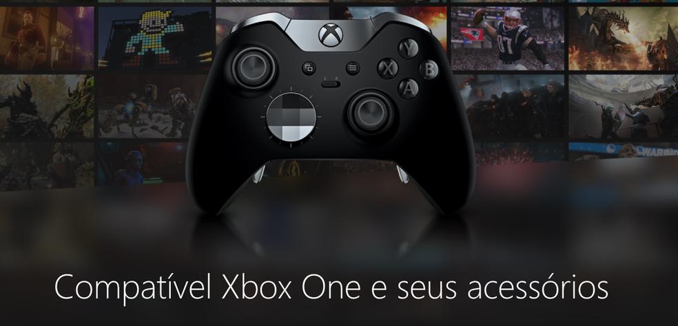 O Xbox One X terá compatibilidade com todos os games e acessórios do Xbox One atual (Foto: Divulgação/Microsoft)