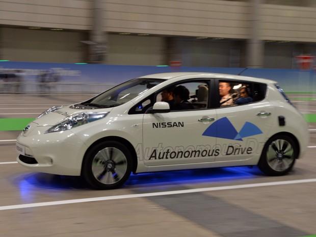 Nissan mostra Leaf elétrico autônomo no Japão