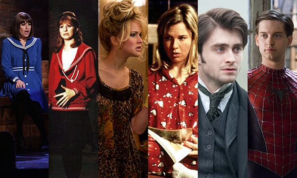 Lea Michele, Barbra Streisand, Jennifer Lawrence, Renée Zellweger, Daniel Radcliffe, Tobey Maguire (Foto: Divulgação)