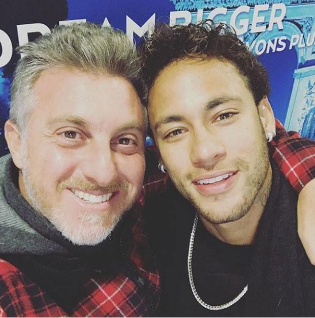 Luciano Huck e Neymar (Foto: Reprodução Instagram)