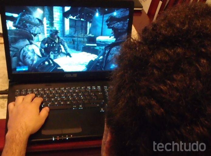 Notebook gamer (Foto:  Pedro Zambarda/TechTudo)