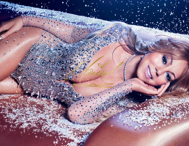 Mariah Carey para M.A.C. É a segunda vez que a diva assina uma coleção pra gigante de cosméticos. A primeira parceria foi em 2015 (Foto: Divulgação)