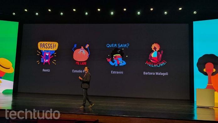 Google Allo terá stickers em português (Foto: Melissa Cruz/TechTudo)