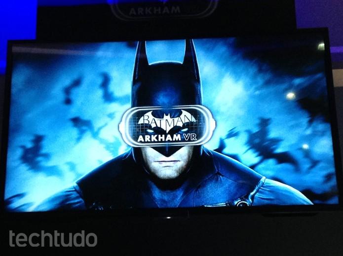 Batman Arkham VR pode ser uma mera coleção de minigames (Foto: Felipe Vinha/TechTudo)