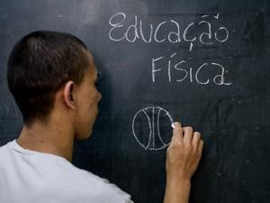 Educação Fisica Fundação Casa (Foto: Raul Zito/G1)