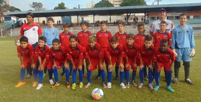 Grêmio Prudente Sub-11 (Foto: Marcos Chicalé / Semepp, Divulgação)