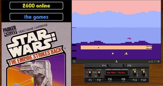 Star Wars de Atari é um dos títulos (Foto: Reprodução/Felipe Vinha)