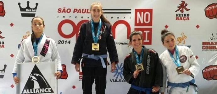 Priscila Vital jiu jitsu al (Foto: Arquivo Pessoal)