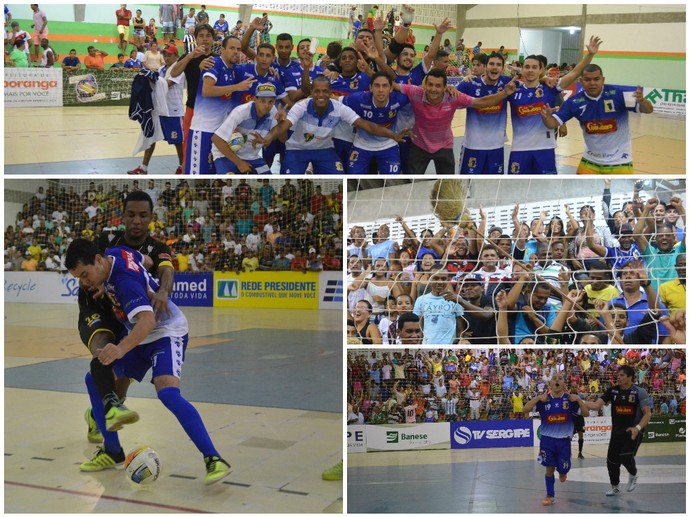 glória, itaporanga, copa tv sergipe de futsal (Foto: João Áquila / GloboEsporte.com)