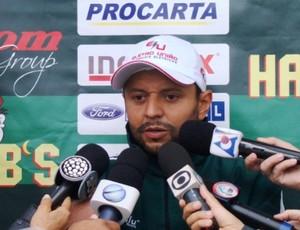 Edmilson Alves, técnico interino do Arapongas (Foto: Divulgação/ Site oficial do Arapongas)