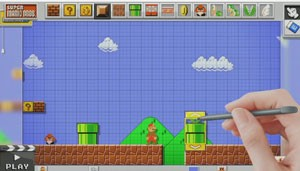 Cena de 'Mario Maker', game de criação de fases de 'Super Mario' (Foto: Divulgação/Nintendo)