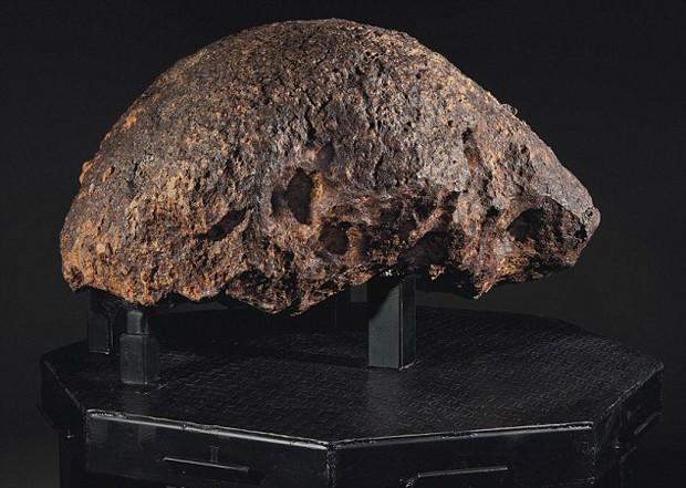 Meteoritos Leilão (Foto: Christies/ Divulgação)