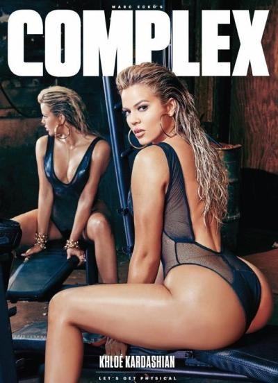 Khloe Kardashian é a capa da revista Complex (Foto: Instagram / Reprodução)