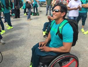 Luis Carlos confia em medalha no Rio (Foto: Marcella Dottling)