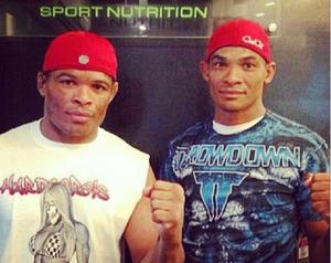 Massaranduba ao lado do irmão Francivaldo Nego (Foto: Reprodução/instagram)