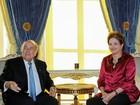 Dilma se encontra com Blatter em Londres