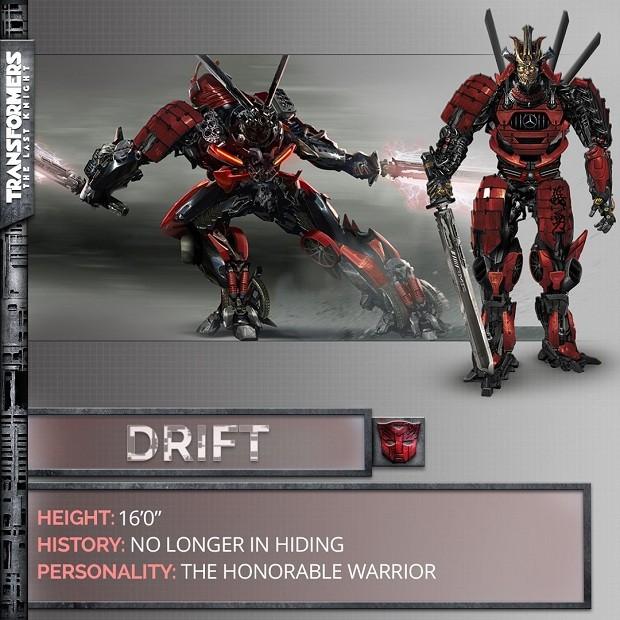 Decepticon Drift em Transformers: O Último Cavaleiro (Foto: Divulgação)