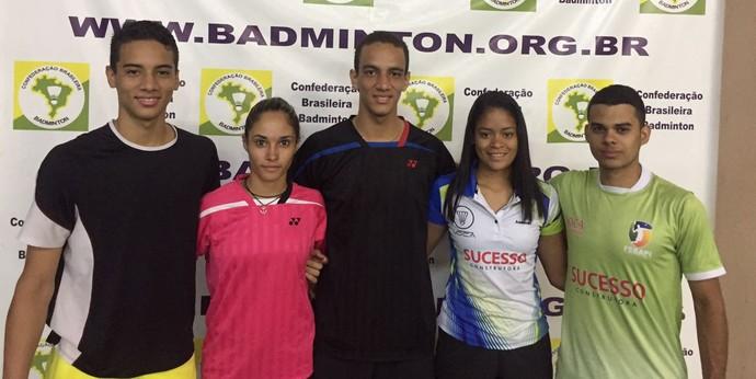 Piauienses convocados badminton  (Foto: Divulgação )