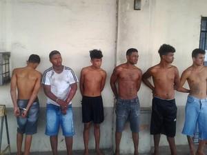 Seis pessoas foram presas na manhã desta segunda-feira (6).  (Foto: SSP/MA)