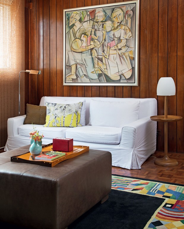 Sala De Tv Com Quadro ~ apartamentodipticosaladetvlambridejacarandasofatapetequadro