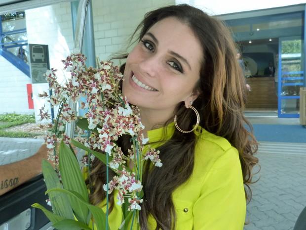 Giovanna Antonelli revela ter muito cuidado com os filhos (Foto: TV Globo/ Mais Você)
