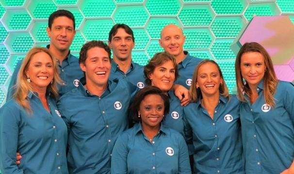 Equipe de comentaristas do Rio 2016 conta com estrelas olímpicas. (Foto: Daniel Cardoso)