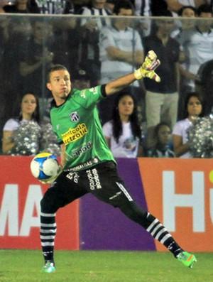 Luís Carlos, goleiro do Ceará (Foto: Divulgação/Cearasc.com)