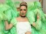 Ju Isen sobre pintura corporal verde: 'Não foi minha culpa, fiquei chateada'