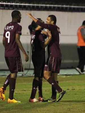 Copa Paulista: Wilson Júnior comemora gol da Ferroviária contra o Sertãozinho (Foto: Leonardo Fermiano/ AI AFE)