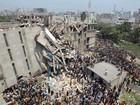 Desabamento de prédio em Bangladesh mata mais de 70