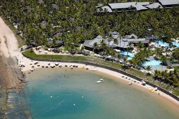 Resort da lua de mel de Naldo (Foto: Divulgação)