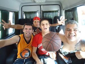 Time Bravos Sobre Rodas em Divinópolis (Foto: Cláudio Mendes/Arquivo Pessoal)