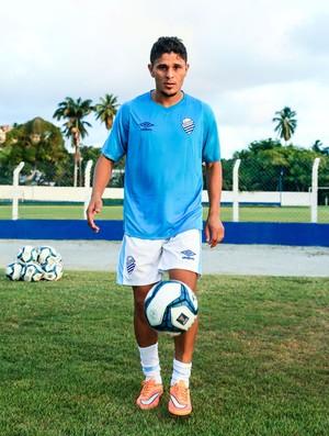 Vanger, atacante do CSA (Foto: Ailton Cruz / Gazeta de Alagoas)