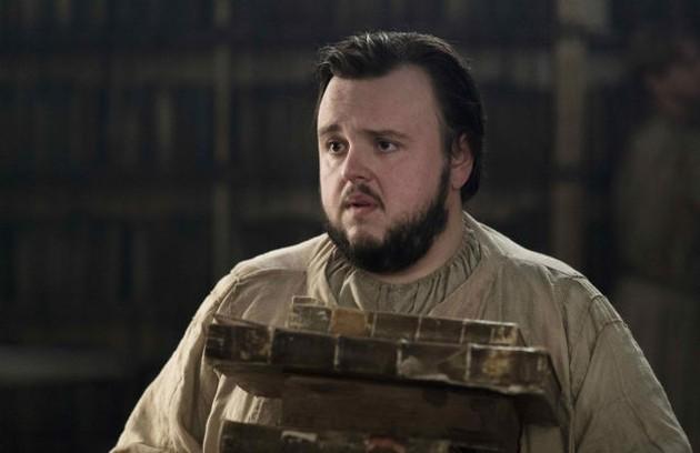 Toda a história da série poderia estar sendo contada por Sam, a partir dos conhecimentos adquiridos por ele nos livros da biblioteca da Cidadela (Foto: HBO)