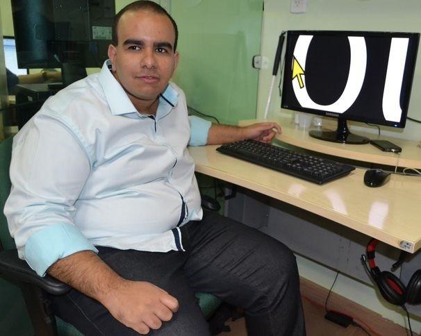 Renato D'avila é produtor no núcleo de esportes da TV Sergipe (Foto: Divulgação / TV Sergipe)