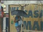 Chegada de frente fria provoca queda de temperatura e chuva em Goiás