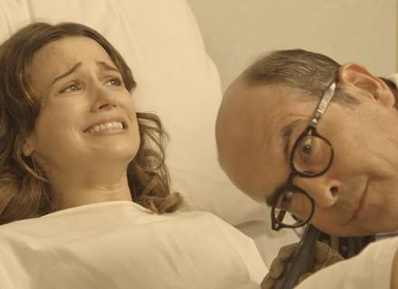 Maria fica entre a vida e a morte com parto prematuro