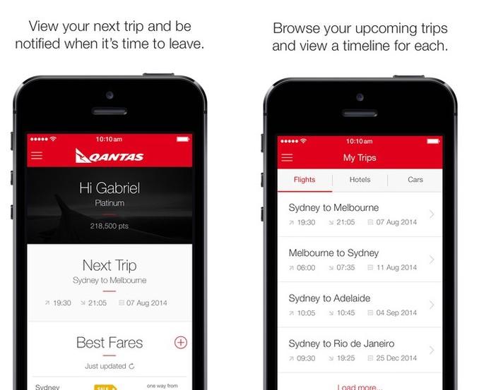 App Qantas