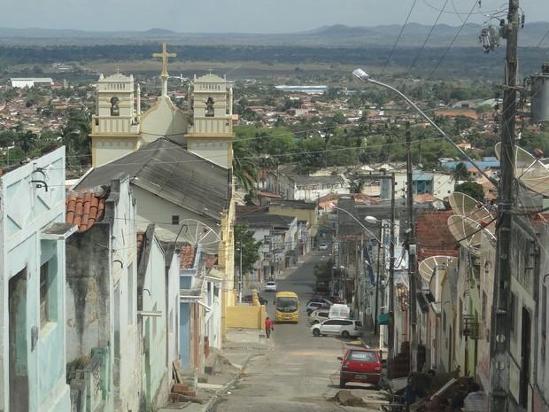 Cidade de Palmeira dos Índios é palco de conflitos por demarcação de terras. (Foto: Carolina Sanches/G1)