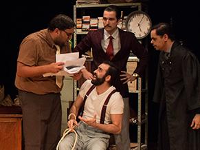 Dramaturgia traz elementos do Teatro do Absurdo (Foto: Divulgação)