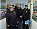 Maradona visita centro de treinamentos do Napoli e faz a festa com os jogadores