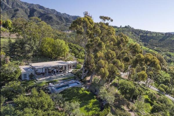 Nova casa fica nos vales de Santa Barbara, na Califórnia (Foto: Reprodução)