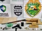 Grupo suspeito de tráfico de drogas e porte de armas de fogo é preso no PR